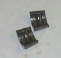 Keepers, pair, 5.5mm, Middle Groove