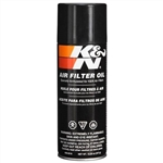 Air Filter Oil, Genuine, K&N, 12.25oz Spray