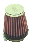 Air Filter, K&N, Open Element, Cone Shaped, Small Inlet (22mm Mikunis)