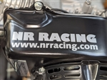 NR Racing Stickers, Vinyl, Pair