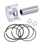 Piston, 6.5 OHV & GX200, Dished Piston Kit (aftermarket)